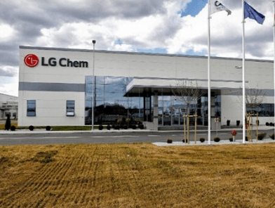 Работа на LG Chem