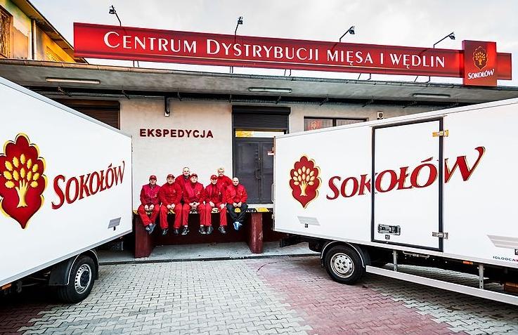 Работник на мясокомбинат Sokołów