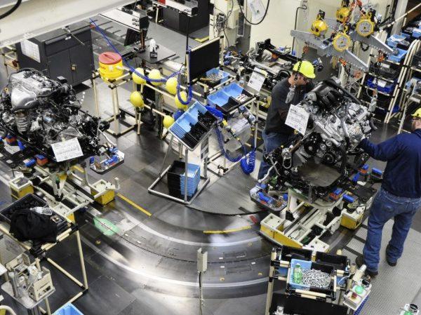 Производство автозапчастей на заводе HUTCHINSON