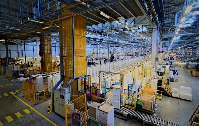 Производство сушилок - Electrolux